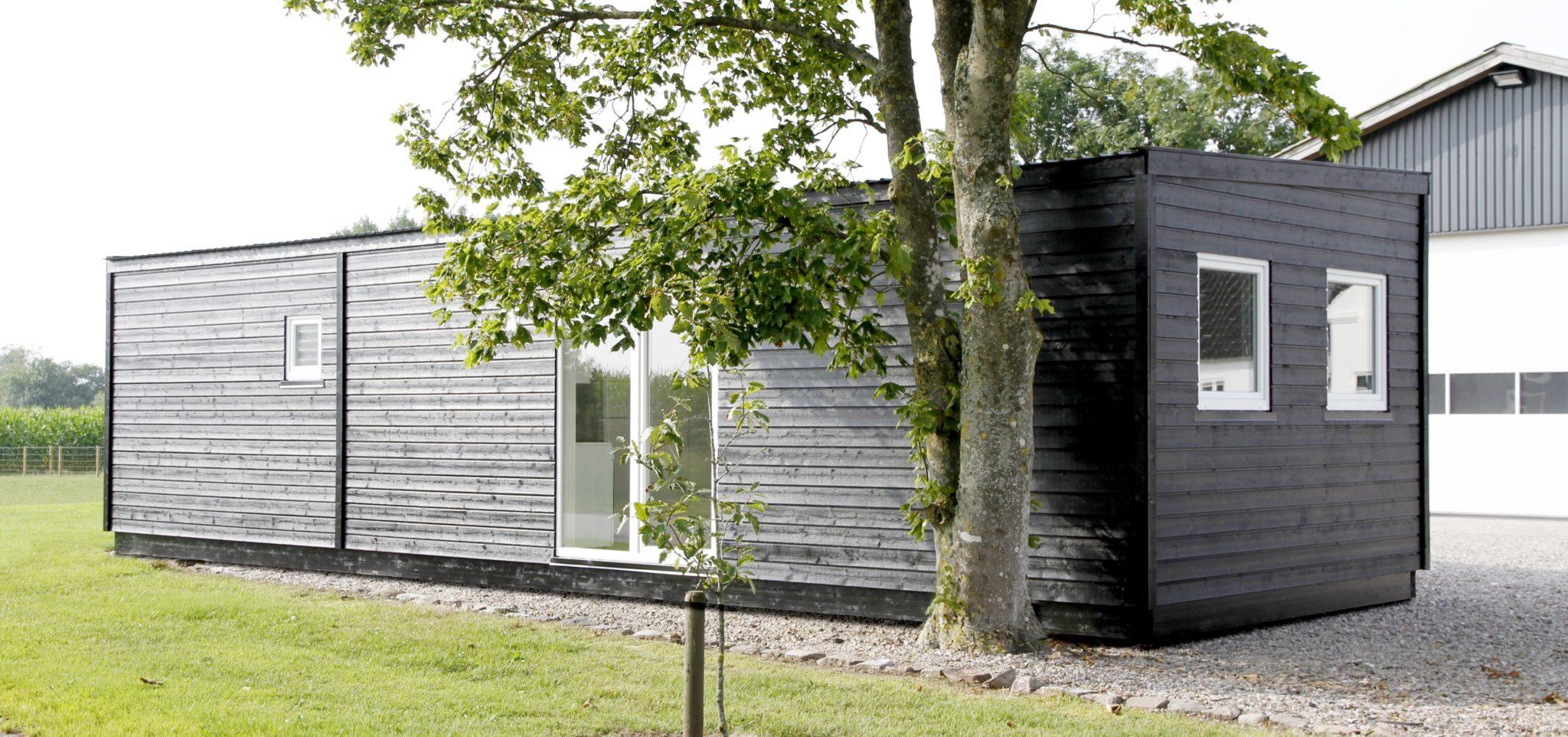 beboelsespavillon fabriksf rdige pavilloner i tr se her. Black Bedroom Furniture Sets. Home Design Ideas