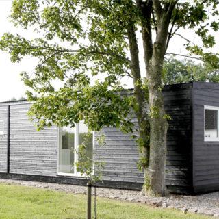 Bolig pavillon / facade