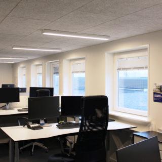 Kontor pavillon / uden rumdeling